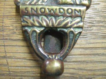 Antique Snowdon Door Knocker
