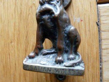 Alsation Dog Door Knocker