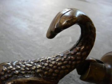 Antique Fish Door Knocker
