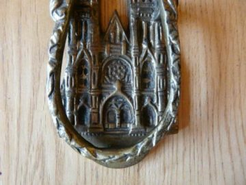 Cathedral Door Knocker