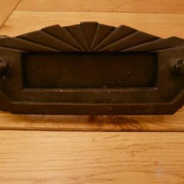 Art Deco Combination Letterbox and Door Knocker & D360-Art Deco Combination Letterbox and Door Knocker | Antique ... Pezcame.Com