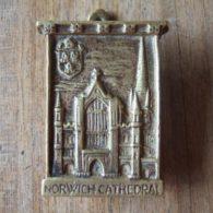 Norwich Cathedral Antique Brass Door Knocker