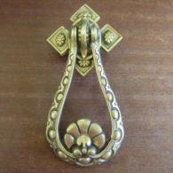 Reproduction Victorian-Style Brass Door Knocker