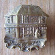 'The Old Curiosity Shop' Brass Door Knocker