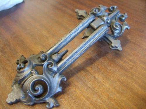 Victorian Cast Iron Door Knocker