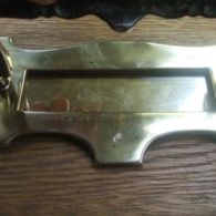 Arts & Crafts Brass Letterbox