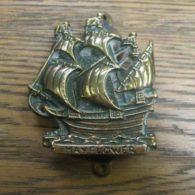 'The Mayflower' Brass Ship Door Knocker