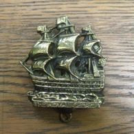 'HMS Royal George' Brass Ship Door Knocker