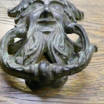 Reproduction green man door knocker rd028 antique door knockers - Green man door knocker ...