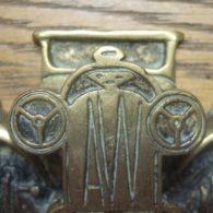 Vintage Car Brass Antique Doorknocker