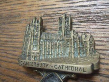 Canterbury Cathedral Brass Antique Door Knocker