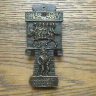Widdecombe Fair Brass Door Knocker