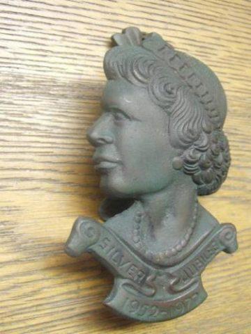 Queen Elizabeth Silver Jubilee Door Knocker
