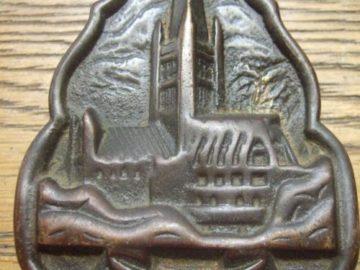Brass Norwich Cathedral Door Knocker