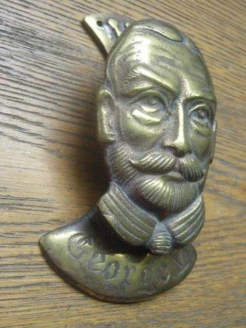 King George V Brass Door Knocker