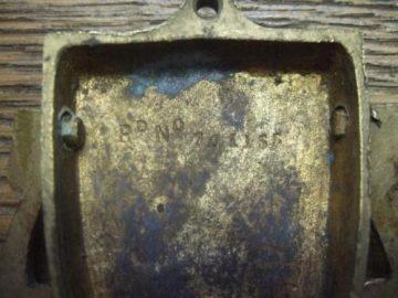 Black Prince's Shield Door Knocker