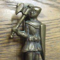 Warwick Warrior Man Door Knocker