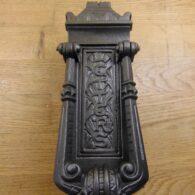 Cast Iron Letterbox and Door Knocker - D014L-1220 Antique Door Knocker Company