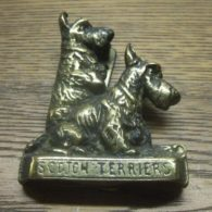 Scotch Terrier Dog Door Knocker - D020