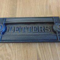 Arts & Crafts Cast Iron Letterbox D031 Antique Door Knocker Company