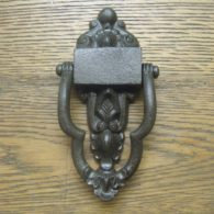 Victorian Cast Iron Doorknocker - D054