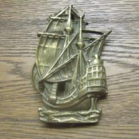 Galleon Door Knocker - D071