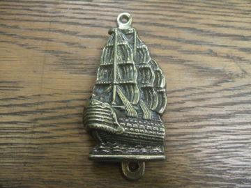 Spanish Galleon Door Knocker - D072