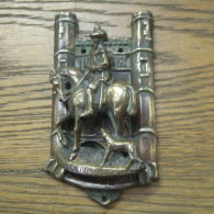 Antique Brass Door Knocker - D112