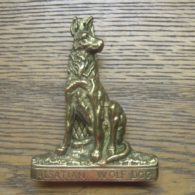Alsatian Wolf Dog Door Knocker