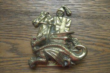 'St George' Door Knocker