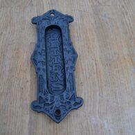 Cast Iron Letterbox D278 Antique Door Knocker Company