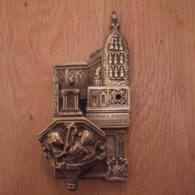 Chester Cathedral Brass Door Knocker