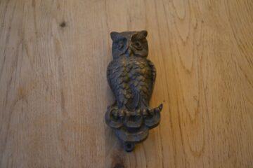 Owl Door Knocker D307-1219