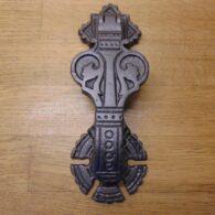 Victorian Arts & Crafts Door Knocker - D308L-0919 Antique Door Knocker Company