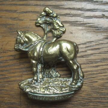 Suffolk punch horse door knocker d317 antique door - Horse door knocker ...