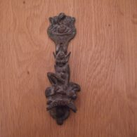 Antique Brass St Ives Door Knocker