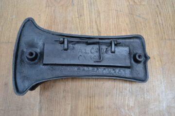Cast Iron Letterbox and Door Knocker D330 Antique Door Knocker Company