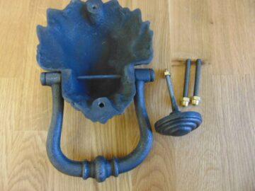 Victorian Lion's Head Door Knocker D362L-0219 Antique Door Knocker Company