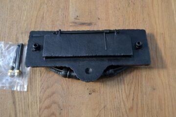Georgian Combination Letterbox and Door Knocker D472L Antique Door Knocker Company