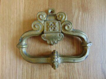 Brass Antique Reproduction Door Knocker/Pull RD027 Antique Door Knocker Company.