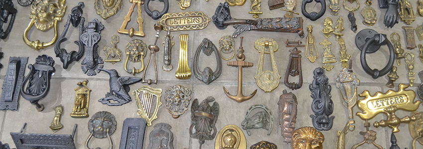 Hundreds of Antique Door Knockers in Stock - Antique Door Knockers