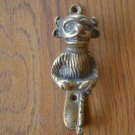 Brass Imp Door Knocker D452-0515 Antique Door Knocker Company