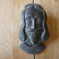 Replica Charles I Door Knocker - RD034 Antique Door Knocker Company