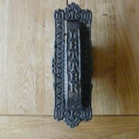 D225_0915_Victorian_Cast_Iron_Letterbox_&_Knocker