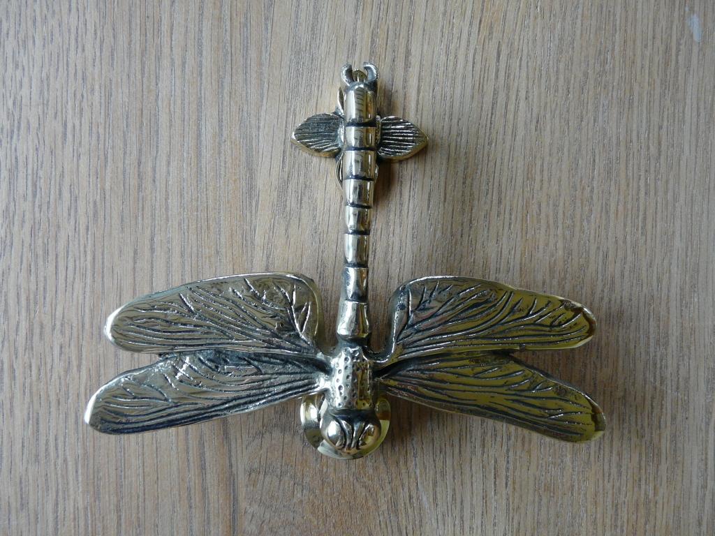 Dragon fly doorknocker rd002 antique door knockers for Door knockers uk