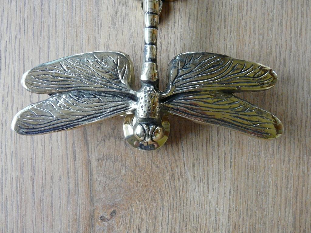 Dragon fly doorknocker rd002 antique door knockers - Dragonfly door knockers ...