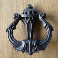 Art_Nouveau_Cast_Iron_Door_Knocker_D023-1016