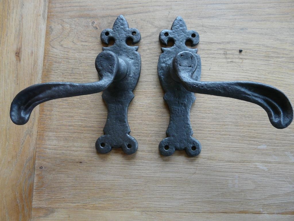 D008 1016 Cast Iron Door Handles Antique Door Knockers