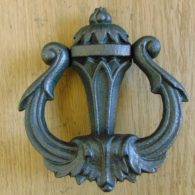 Art_Nouveau_Cast_Iron_Door_Knocker_D119