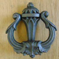 Art_Nouveau_Cast_Iron_Door_Knocker_D119